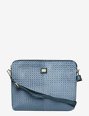 PIPOL'S BAZAAR - Velvet Laptop Cover - laptoptassen - blue - 0