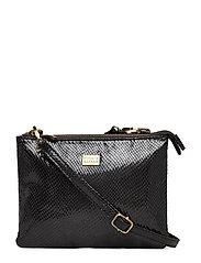 Double Cross-Body Pipols Bag - BLACK