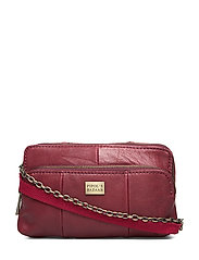 Crudy PIPOL Leather Bag Wine - WINERED