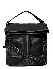 Canvas PIPOL Leather Black - BLACK