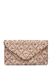 Florence Beaded Clutch Pink - PINK