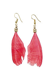 Drama Feather PIPOL Ear Coral - RED