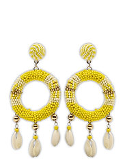 Rica Earring Yellow - YELLOW
