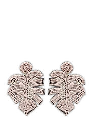 Leafer Earring Pale Pink - PINK