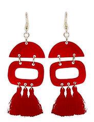 Duo Tassel Ear Red - RED