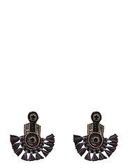 Fira Ear Aubergine Grey - GREY