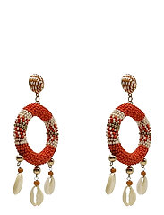 Rica Earring Corall - RED