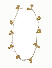 Trippia Tassel Pipols Long Necklace - GOLD