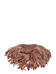 Majestic Feather Pipol´s Collar - BROWN