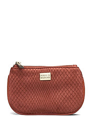 Viva Card Pouch Impress Rust - RED