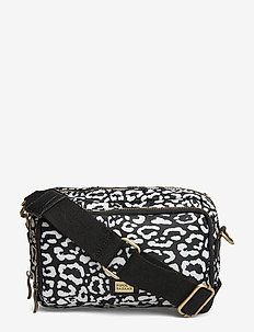Daily Pipols Cross Bag  Leo - BLACK