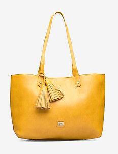 Stile Shopper Bag Mustard - YELLOW