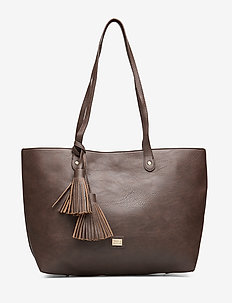 Stile Shopper Bag Brown - BROWN