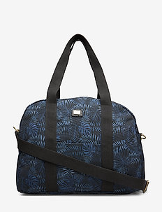 Daily Weekend Bag Palm Blue - casual shoppers - blue