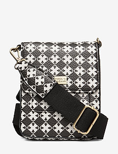 Stile Saddle Cross Bag Logo Dark - BLACK