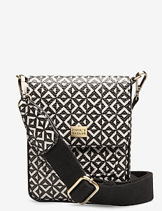 Stile Saddle Cross PIPOL Bag Square B&W - MULTI