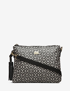 Stile Cross Pipol Bag Square B&W - BLACK