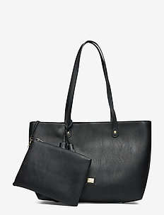 Viva Shopper Bag Black - shoppers - black