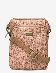 Triple Zip Bag Rocca Brown PU - schoudertassen - multi