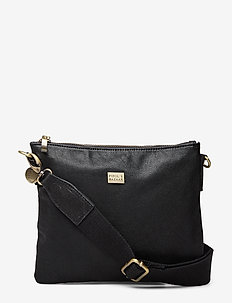 Sweet Pipol´s Cross Leather Bag - BLACK