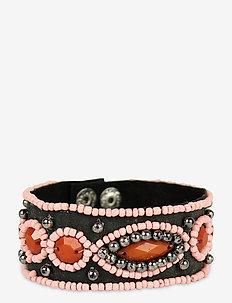 Palma Bracelet Rust - bangles - red
