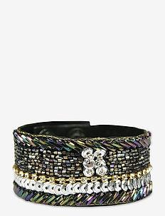 Arrowing Bracelet Grey - bangles - grey