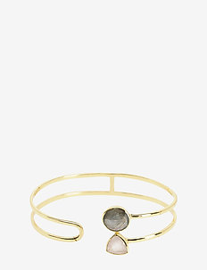 Linda Bangle GreyPink - PINK/GREY