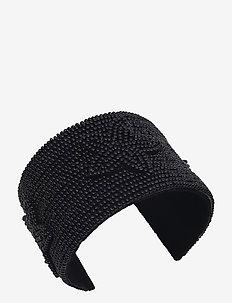 Fiorella Bangle Black - bangles - black