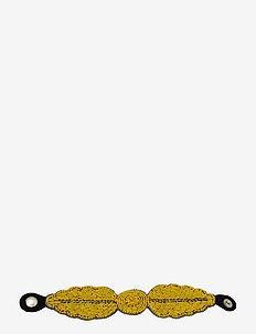 Fogli Bracelet Yellow - bangles - yellow