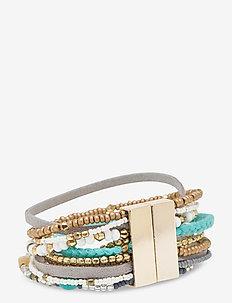 Multi color Bracelet Capri - dainty - multi coloured