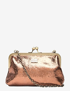 Fiesta PIPOL Moira Chain Clutch Bronze - BROWN