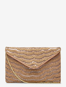 Amal Clutch Golden - clutches - gold