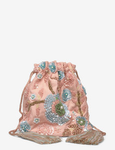 Excuise Round Pouch - bucket bags - beige