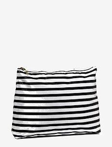 Stripes Cosmetic Big - BLACK WHITE