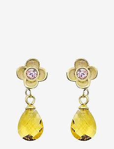 Suri Drop PIPOL Ear Gold Pink - PINK