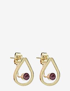 Yma PIPOL Ear Gold Amethyst - GOLD