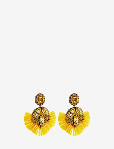 Flavour Fringe Pipols Ear - YELLOW