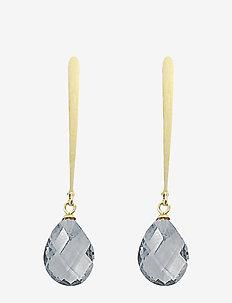 Vania Long PIPOL Ear Goldy Grey - statement - grey