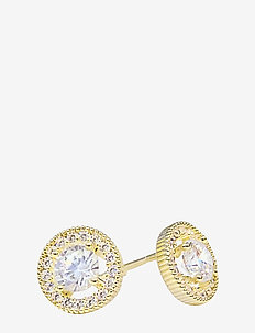 Estrade PIPOL Ear Golden Clear - statement - gold