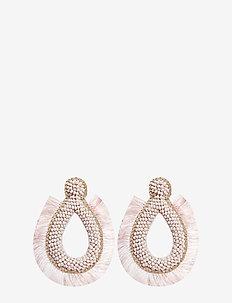Hansel Fringe PIPOL Ear Pink - statement - pink