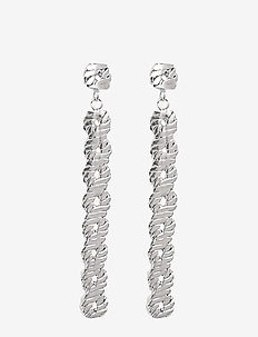 Link Long PIPOL Ear Silver - statement - silver