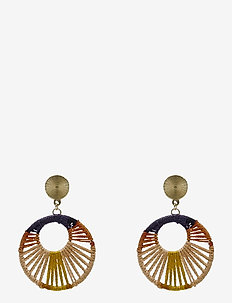 Giro Ear Multi Orange - statement oorbellen - multi