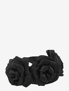 Flower Big PIPOL Diadema Black - accessoires - black