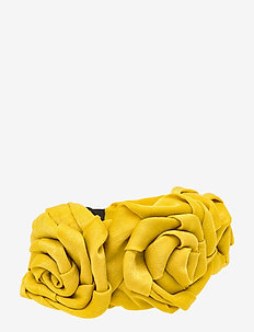 Flower Big PIPOL Diadema Yellow - hair accessories - yellow