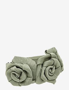Flower Big PIPOL Diadema Sage - akcesoria do włosów - green