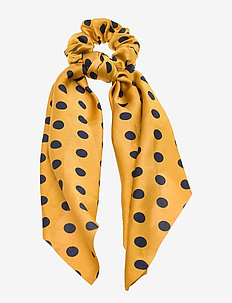 Cindy Scrunchy PIPOL Scarf Dot Yellow - sjaals - multi