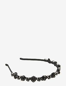 Alpha Embroidered PIPOL Diadema Black - accessoires - black