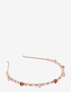 Missy Embroidered PIPOL Diadema Pink - hair accessories - pink