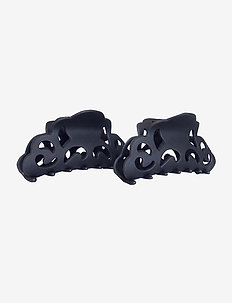 Bastana Clamp Black 2 pcs - hair accessories - black