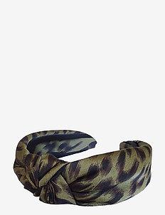 Henna Knot Diadema Leo Khaki - hair accessories - multi